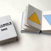 BOOK -蛇腹ver.- TRIANGLE BOOK